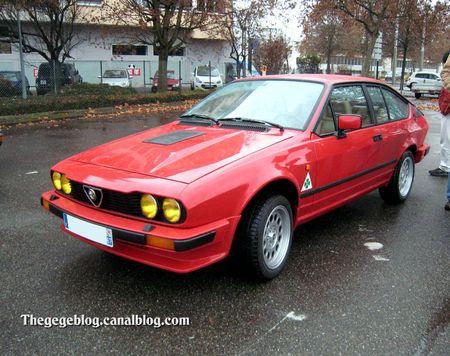 Alfa romeo alfetta GTV (Retrorencard decembre 2011) 01