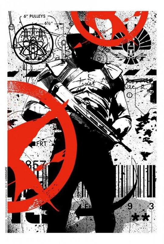 Hunger Games MockingJay Comic Con 2014 poster