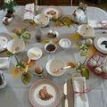 TABLE PETIT-DEJEUNER A LA CAMPAGNE