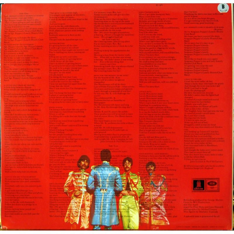 sgt pepper 39 s lonely hearts club band the beatles rock fever. Black Bedroom Furniture Sets. Home Design Ideas