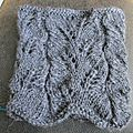 Abstract leaves cowl
