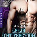 Hardes hangmen tome 3 : la loi de l'attraction écrit par tillie cole / marie