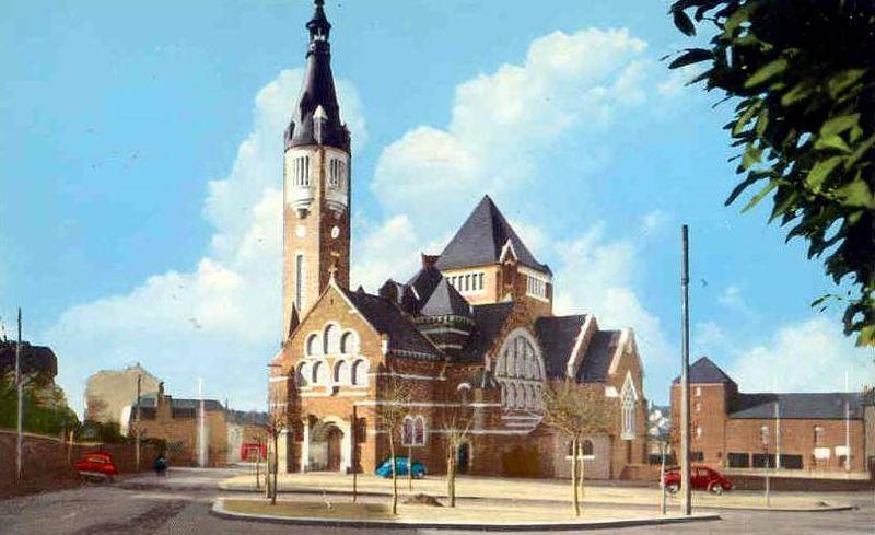 Rennes, église Sainte Jeanne d'Arc