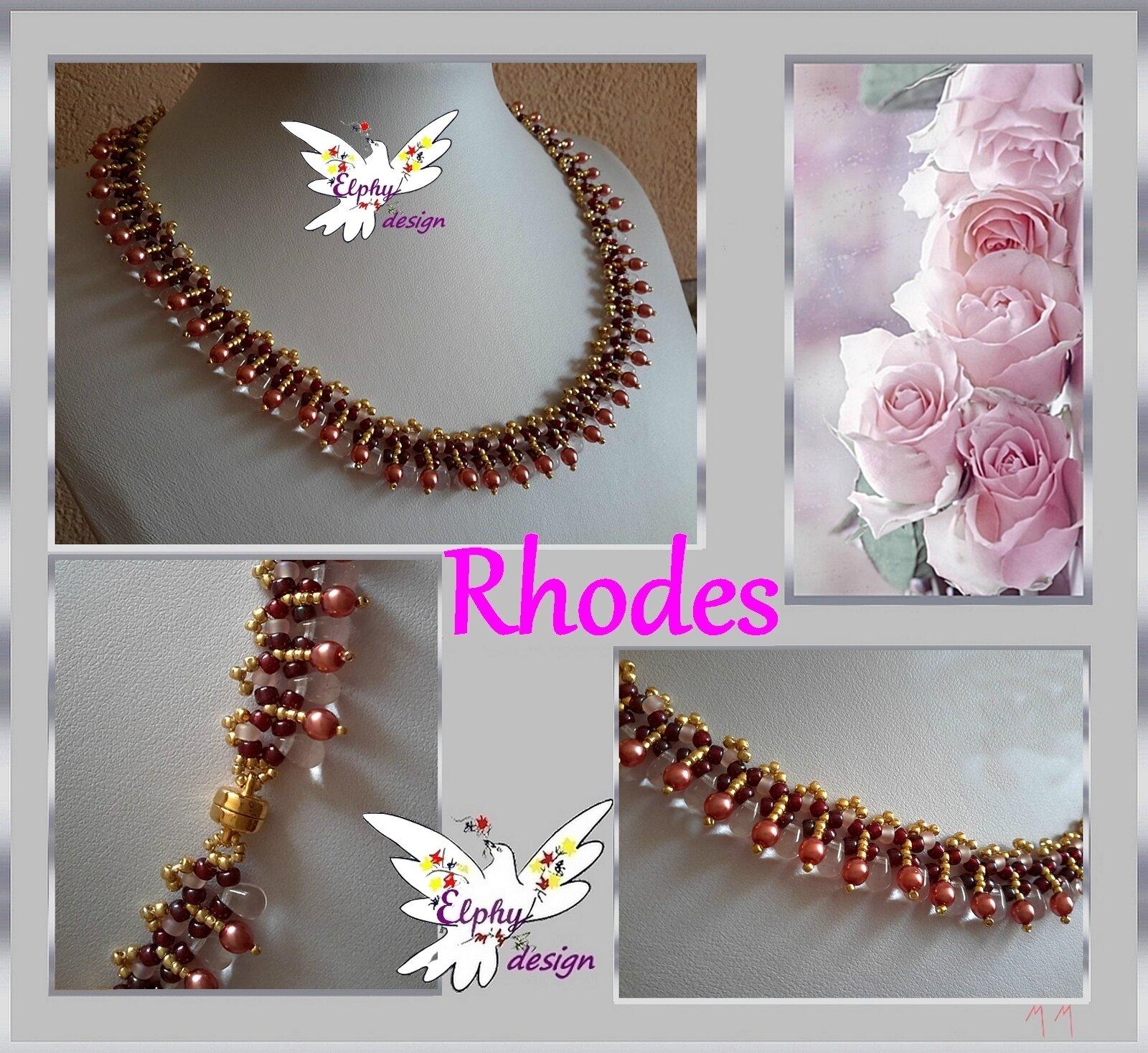 planche RHODES rose