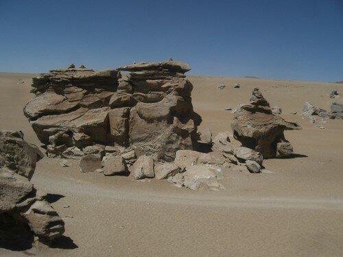 Désert au sud de la Bolivie