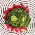 Salade de fanes de radis