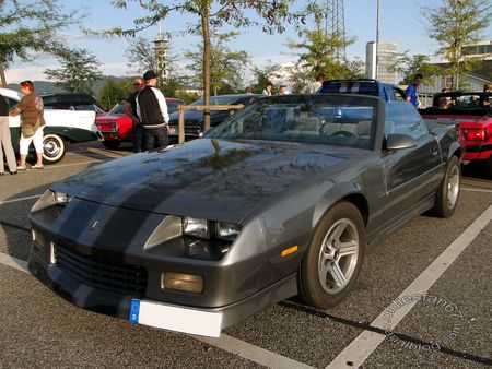 chevrolet camaro rs convertible 1989 1992 rencard burger king offenbourg 1
