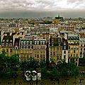 Paris depuis le Centre Pompidou.