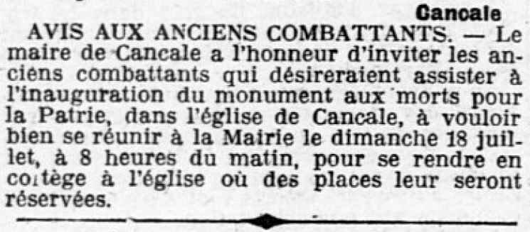 OE Cancale 17 07 1920