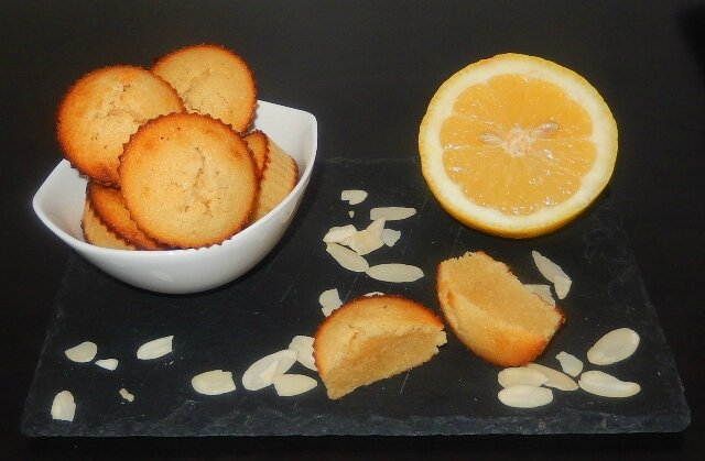 Bouchées amandes citron