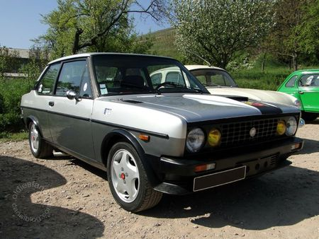 Fiat 131 racing 2000 tc 1978 1982 Bourse d'Echanges de Soultzmatt 2011 1