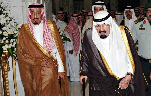 Saudi Arabia, King Abdallah and his Brother Salman