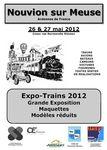 Affiche Expo trains 2012