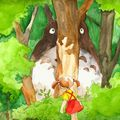 totoro wood color