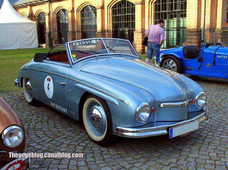 Rometsch beeskow cabriolet de 1952 (Paul Pietsch Classic 2014) 01