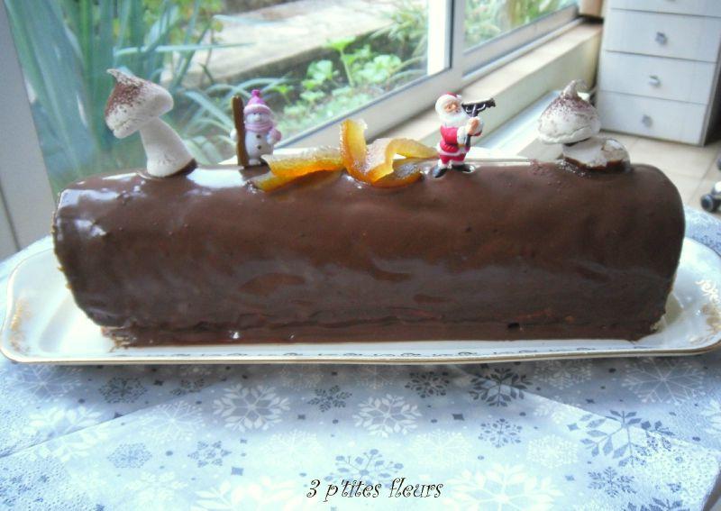 BUCHE ORANGE CHOCOLAT