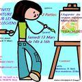 Activité peinture pour les collégiens!