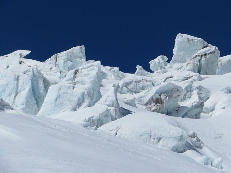 Glacier du Géant, Vallée Blanche