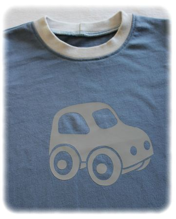 Ensemble voiture tee-shirt 3