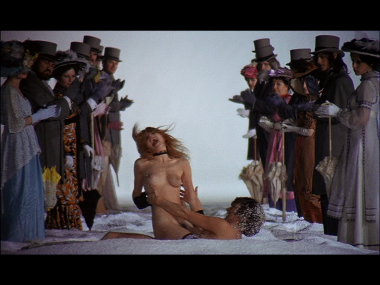 Adrienne corri en a clockwork orange