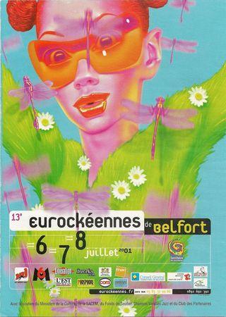Programme Eurockéennes 2001 001