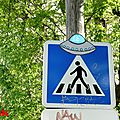  UFO's atttack in the city....