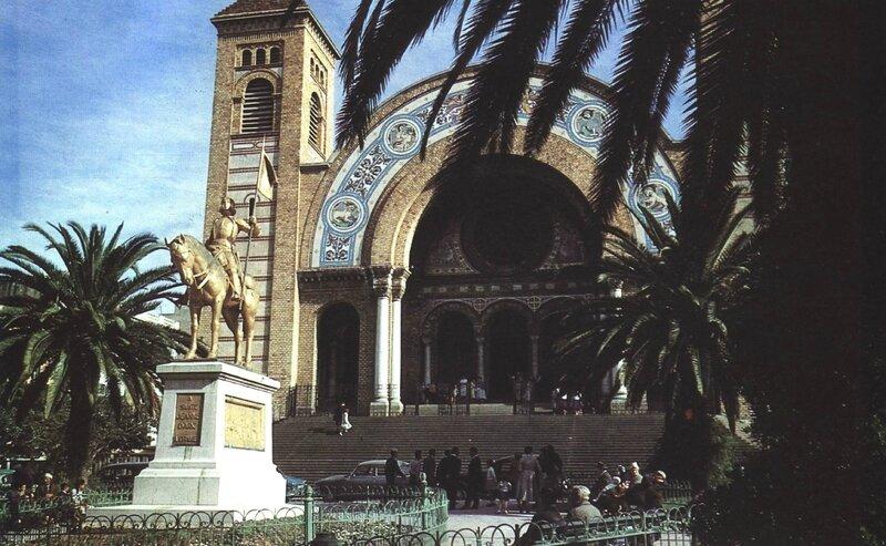 Jeanne d'Arc - Cathédrale Oran