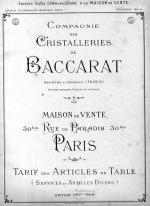 Baccarat 1907