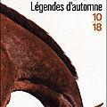 * * * legendes d'automne - jim harrison