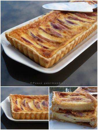 Tarte crèmeuse aux nectarines et mascarpone (15)