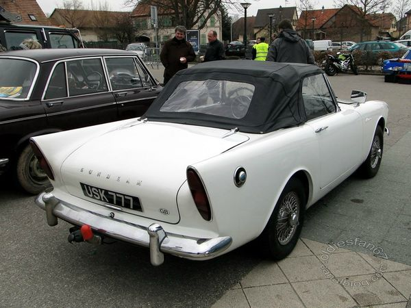 sunbeam alpine II 1962 4