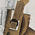 Georges braque , la mandoline, 1er jet