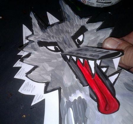 96_Personnages Animaux monstres_Le grand méchant loup (36)