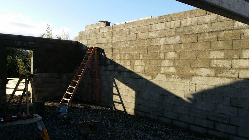 Montage De Parpaing Pour Construction DUn Garage   Innov  Dco