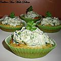 Cupcakes aux courgettes & chvre frais