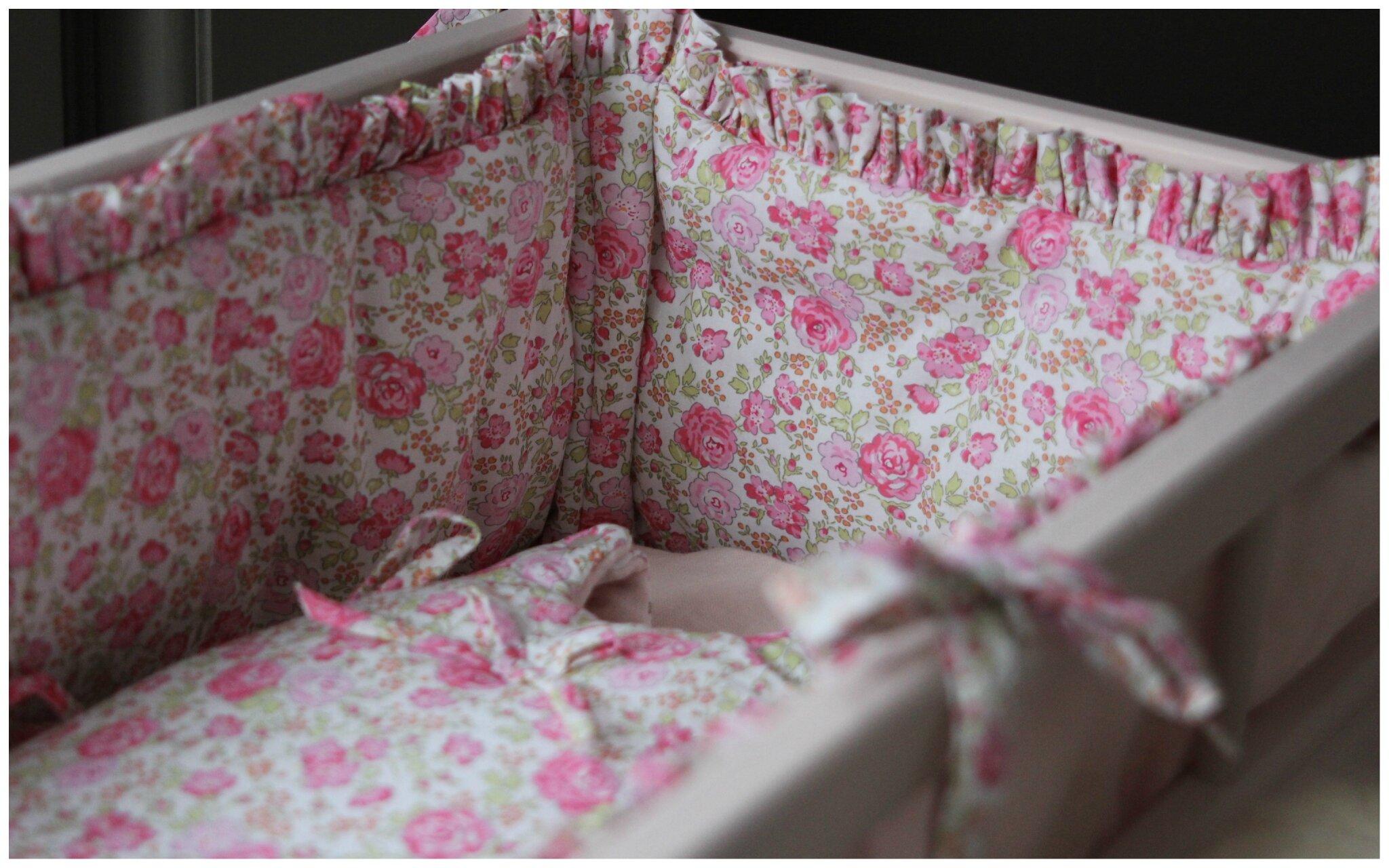 En attendant le printemps ma jolie tribu le blog - Tour de lit rose poudre ...