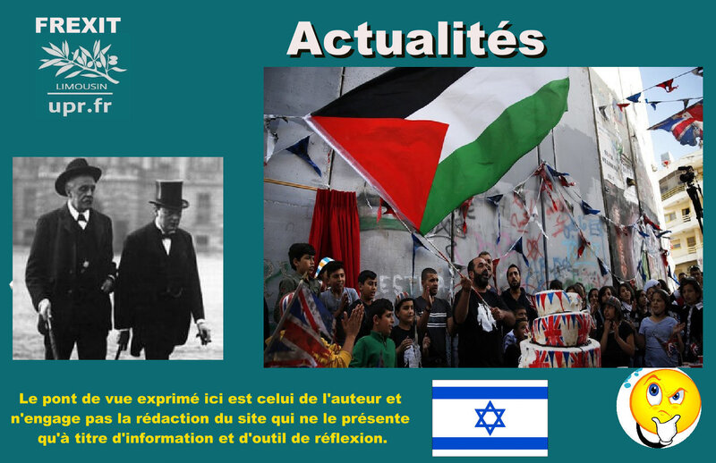 ACT BALFOUR PALESTINIENS