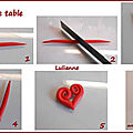 Tutoriel de saint valentin