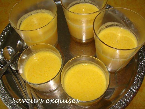 mousse orange