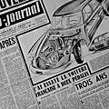 1952 - l'auto-journal évente le secret de la voiture révolutionnaire de citroën