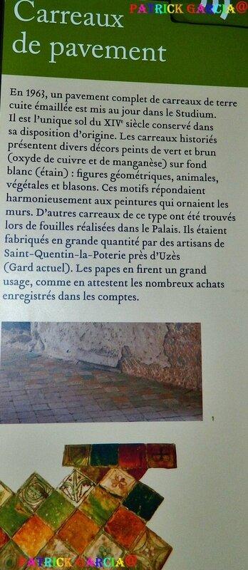 AVIGNON PALAIS INTERIEUR CHAMBRE DE PAREMENT 867 copie