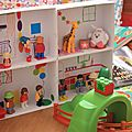 You get the doll house !