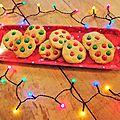 Cookies au beurre de cacahuete & m&m's