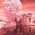 Découverte de la photographie infrarouge - château de rogé