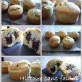 Muffins pistache - chocolat