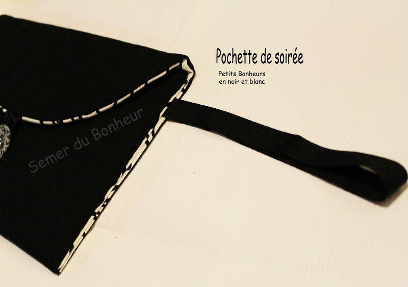 pochette petits bonheurs en noir et blanc 5
