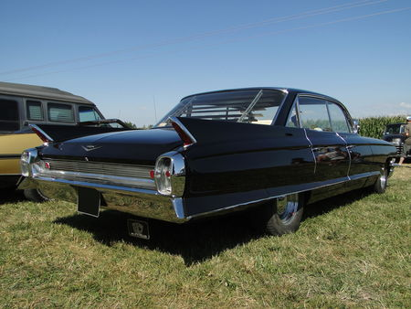 CADILLAC series 62 6window Hardtop Sedan 1962 Concentration de Vehicules Americains Ohnenheim 2011 2