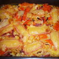 TARTIFLETTE AUX LEGUMES