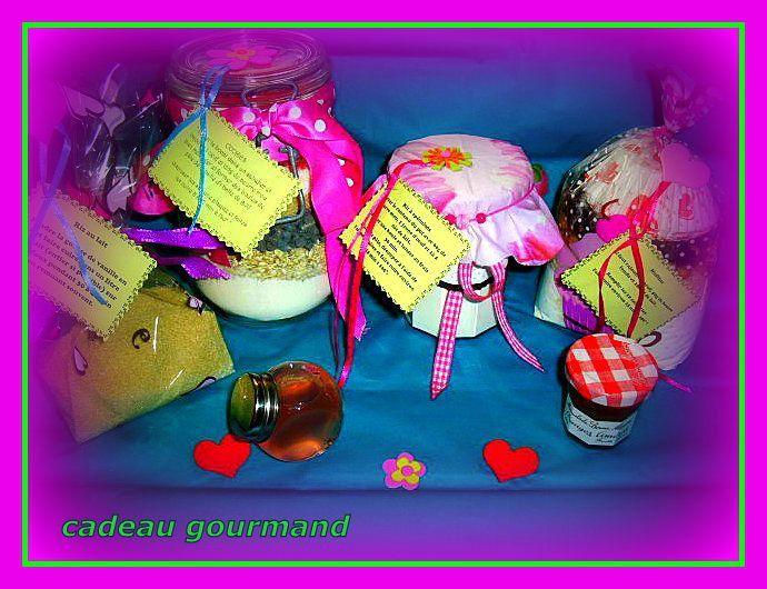 concours cadeaux gourmand fait maison chez mon amie sandrine un brin de tulipe isa. Black Bedroom Furniture Sets. Home Design Ideas
