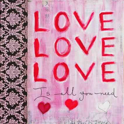 Love, love, love - VENDU